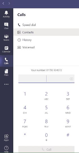 Microsoft Teams for External calling